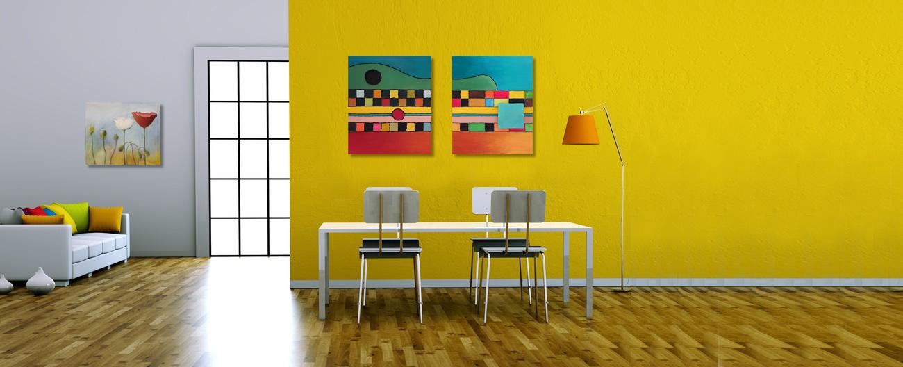 Bilder im Raum