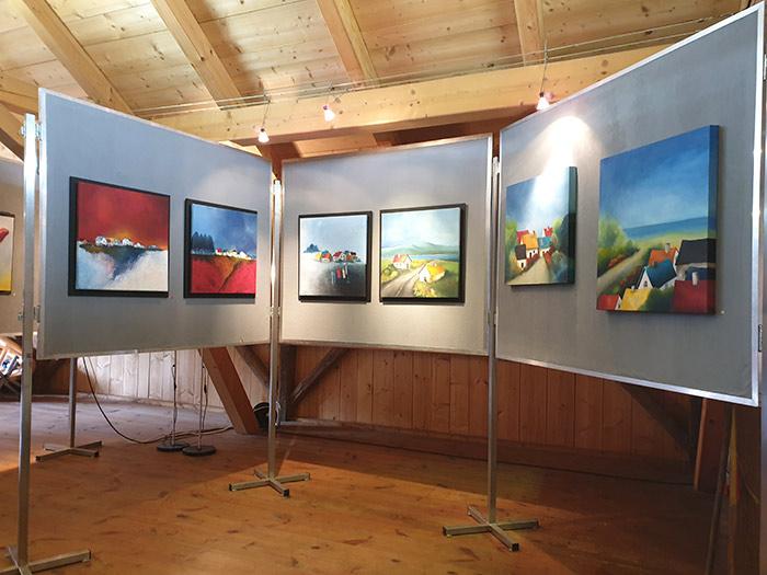 Ausstellung Sabine Leipold im Historischen Knittlanwesen, Tag der offenen Tür