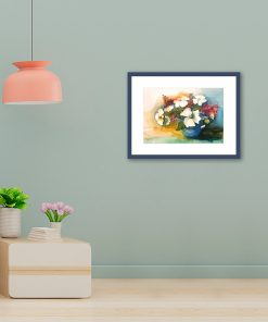 Aquarellbild Sabine Leipold im Raum