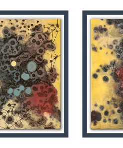 Acrylbild abstrakt, Mischtechnik