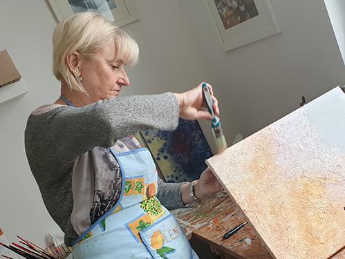 Sabine Leipold Kunst Kurse Regensburg Acryl Workshop