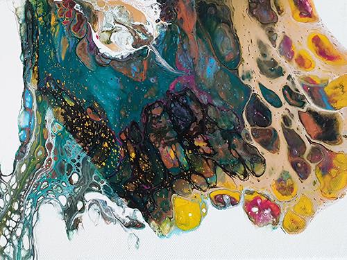 Sabine Leipold Regensburg Fluid Painting Workshop