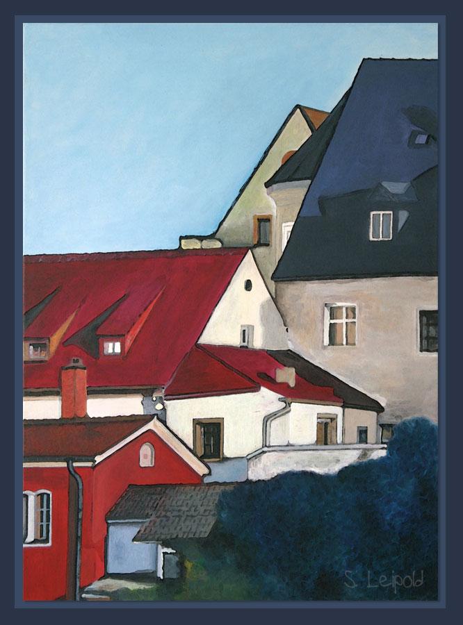 Acrylmalerei, Sabine Leipold, Regensburg