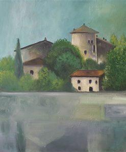 Acylbild Toblino, Italien